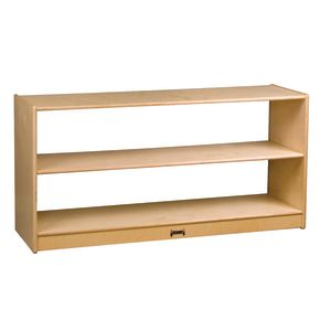 Wood Clear Back Storage