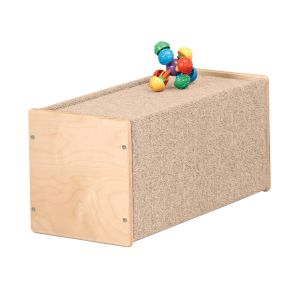 Play Box with Blue Carpet - Small
