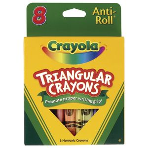 Crayola® Triangular Anti-Roll® Crayons