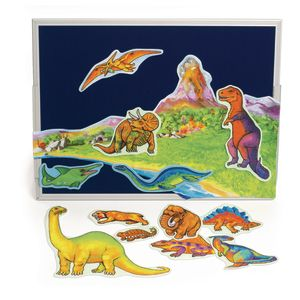Dinosaur Felt Scene - Set of 13