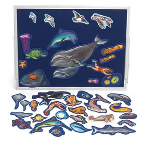 Sea Life Felt Pieces - Set of 40