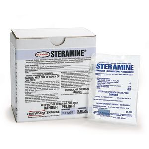 1 oz. Steramine® Quarternary Sanitizer - 100 count