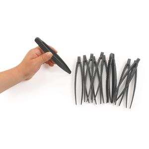 Plastic Tweezers - Set of 12
