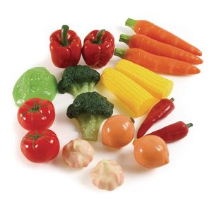 Life-Sized Vegetable Set - 18 Pieces