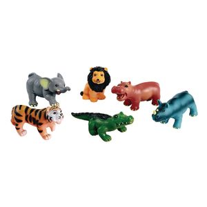 Soft Touch Baby Wild Animals - Set of 6