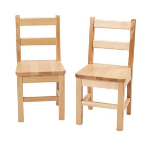 "12"" Birch Chairs - Set of 2"