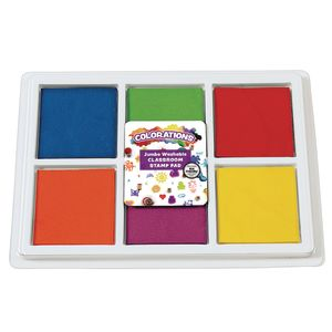 Colorations® Jumbo Washable Classroom Stamp Pad