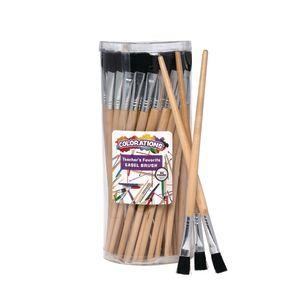 Colorations® Teacher's Favorite Easel Brush - Set of 60