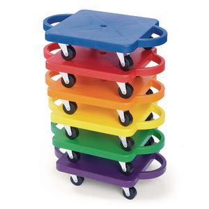 Rainbow Rollers - Set of 6