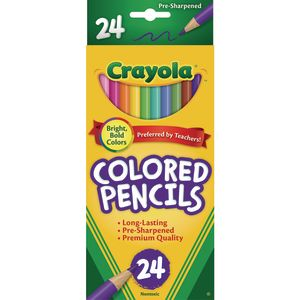 Crayola® Colored Pencils - Set of 24