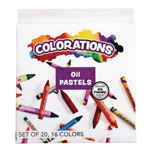 Colorations® Oil  Pastels Set of 20