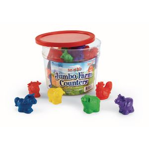 Jumbo Farm Counters - 30 Pieces