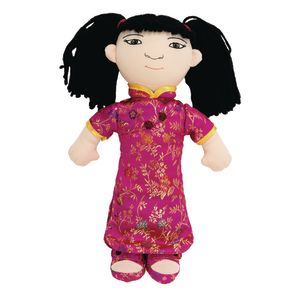 World Friends Doll - Asian Girl