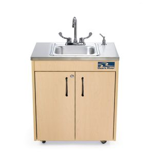 Ozark River® Lil' Portable Hot Water Sink with Stainless Top and Basin