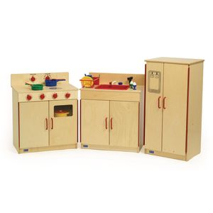 Preschool Kitchen - Sink, Stove & Refrigerator