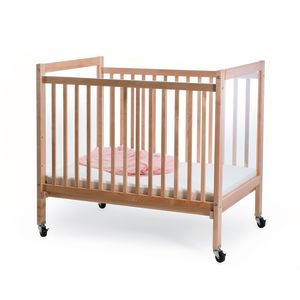 Whitney Brothers Adjustable Natural Clear View Crib