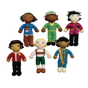 Excellerations® World Friend Dolls - Set of 6 Boys