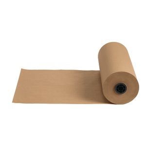 "18"" x 1000' Tan 40 lb. Butcher Paper Roll"