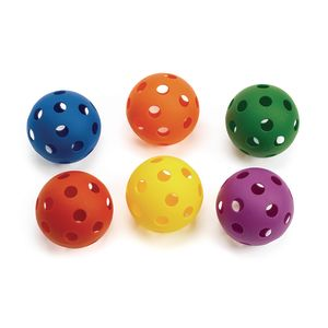 Lightweight Plastic Balls - Set of 6