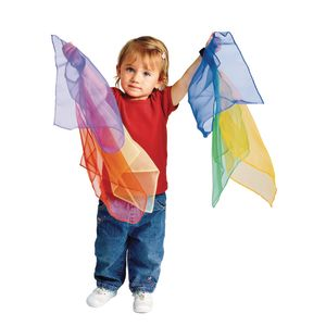 Excellerations® Toddler Movement Scarves - Set of 6