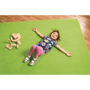 """Solid Color Carpet - Light Green 5'10"""" x 8'5"""" Rectangle"""