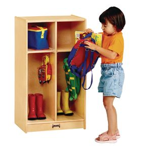 2-Section Toddler Locker