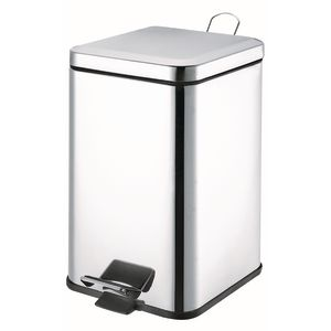 Stainless Steel Trash Can - 21 Qt.