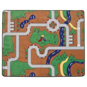 "Roadways Block Carpet - 4'8"" x 5'10"""