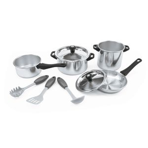 Chef's Quality Aluminum Cookware - 9 Pieces
