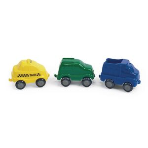 Chubby City Vehicles - Set of 15
