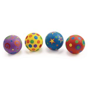 "Excellerations® Whimsical Playground Balls - 5"", Set of 4"
