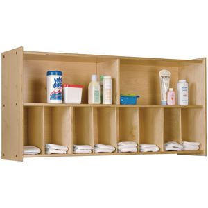 Birch Diaper Wall Storage