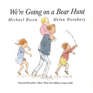 """""""We're Going on a Bear Hunt"""" - Hardcover Book"""