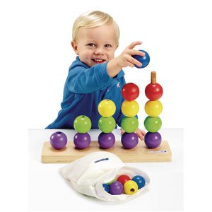 Excellerations® Giant Toddler Stack & Count - 26 Pieces