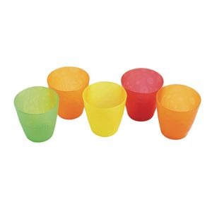 Colorful 8 oz. Cups - Set of 15