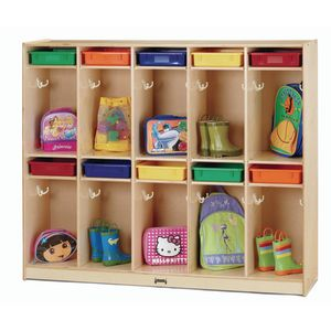Take Home Center Coat Locker with Paper Trays