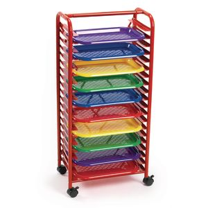 Colorations® Mobile Art Rack with 10 Trays