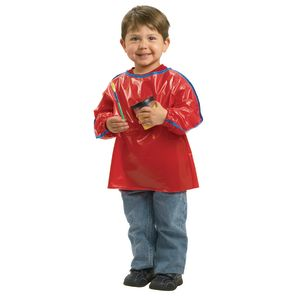 Colorations® Long Sleeve Toddler Smock - Set of 6