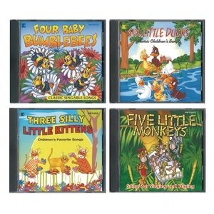 Classic Children's Songs - 4 CDS