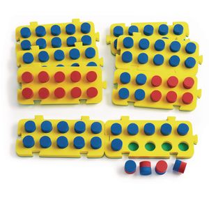 Ten Frame Numeration Boards - Set of 8