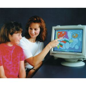 "TOUCH SCREEN 16-17"" Monitor Windows(Serial Port)"