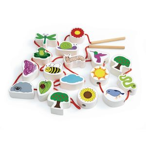 Excellerations® Chunky Lacing Garden Set - 17 Pieces