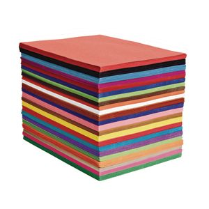 "12"" x 18"" Heavyweight Construction Paper, 24 options, 50 sheets"