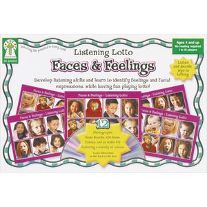 Listening Lotto Game - Faces & Feelings