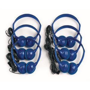 HamiltonBuhl Blue Headphones - Set of 6