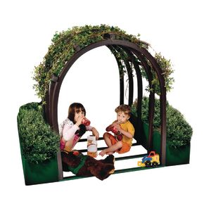 """48"""" Outdoor Vine House with Planters"""