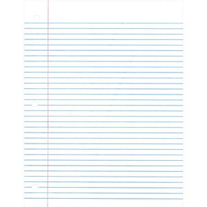 College Ruled Filler Paper, 200 Sheets