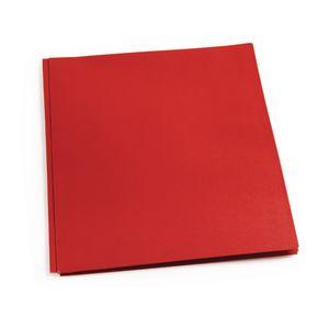 Pocket & Brad Folder, Red
