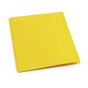Pocket & Brad Folder, Yellow