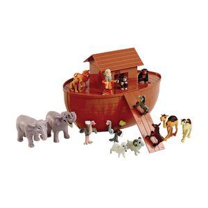 Noah's Ark Play Set - 17 Pieces